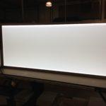 48 x 96″ LED thin panel light box