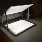 LED light panel studio