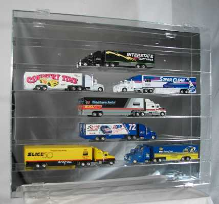 7 Shelf 1/64 Scale Hauler Display Case