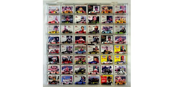 48 Slot 1/64 Scale Display Case for cars w/cards