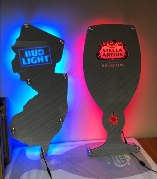LED – Custom Lasercut Sign