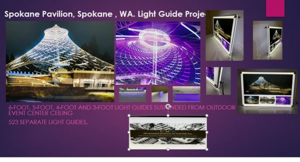LED Light Guides – Custom