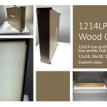 12×14 Wood LED Light Box