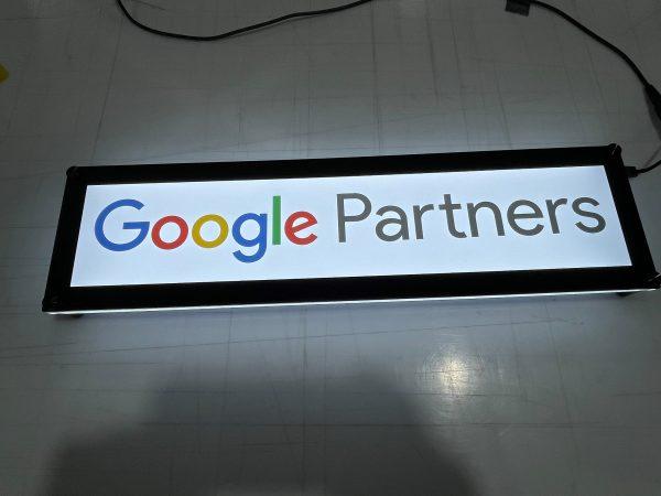 Google Partners Lumen Series Sign