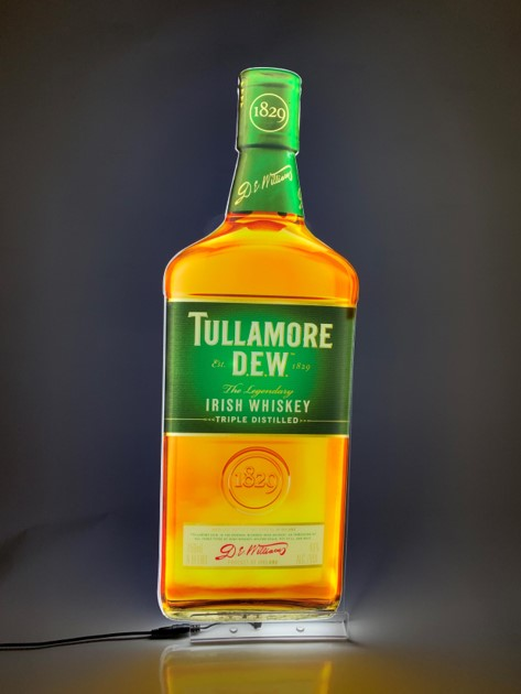 Tullamore Dew Lumen Series Sign