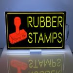 Rubber Stamps Lumen Series Sign