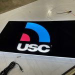 USC by Sherwin-Williams Lumen Series Sign