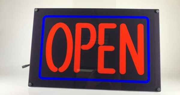 Lumen Series Open Sign