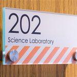 UV-Printed Door Tags!